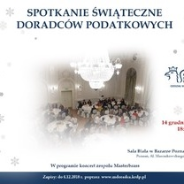 Zaproszenie na Spotkanie Świąteczne Doradców Podatkowych