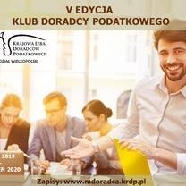 V edycja - Klub Doradcy Podatkowego w Poznaniu 2019/2020