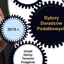 Dyżury doradców podatkowych w Urzędzie Gminy Tarnowo Podgórne - 2019 r.