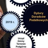 Dyżury doradców podatkowych w Urzędzie Gminy Tarnowo Podgórne - II półrocze 2019 r.