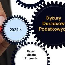 Dyżury doradców podatkowych w Urzędzie Miasta Poznania - I półrocze 2020 r.