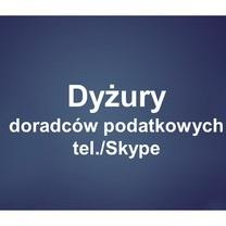 Dyżury doradców podatkowych (tel./Skype) organizowane z Urzędem Miasta Poznania