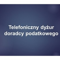 Telefoniczny dyżur doradcy podatkowego organizowany z Urzędem Miasta Poznania - 27.05.2020 r.