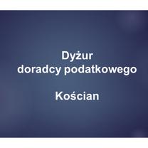 Dyżur doradcy podatkowego organizowany z Ośrodkiem Wspierania Przedsiębiorczości w Kościanie - 29.06.2020 r.