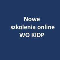 Nowe szkolenia online WO KIDP