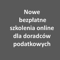 Nowe bezpłatne szkolenia online WO KIDP dla doradców podatkowych